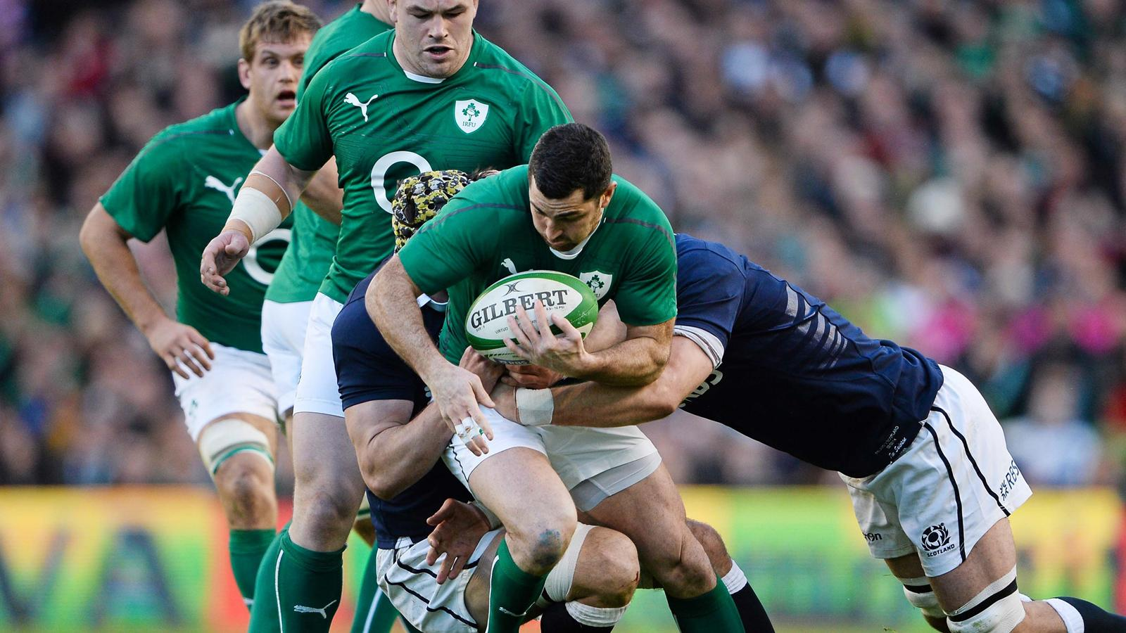 Tournoi des 6 nations 2014 irlande ecosse 28 6 l 39 irlande sa juste main 6 nations 2014 - Coupe des 6 nations rugby ...