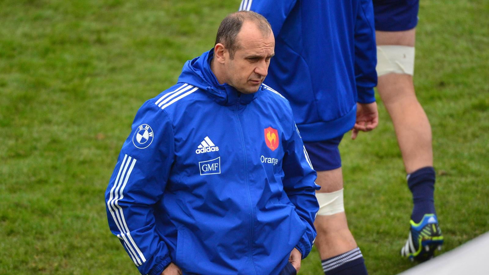 6 nations 2014 xv de france saint andr a secou ses joueurs 6 nations 2014 rugby rugbyrama - Rugby coupe des 6 nations ...