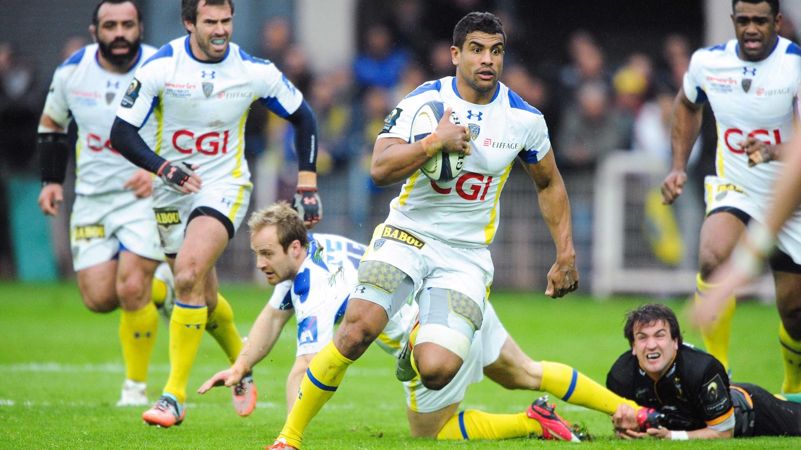 Champions cup la coupe d europe bonheur de wesley fofana clermont champions cup 2014 2015 - Calendrier coupe europe rugby 2015 ...