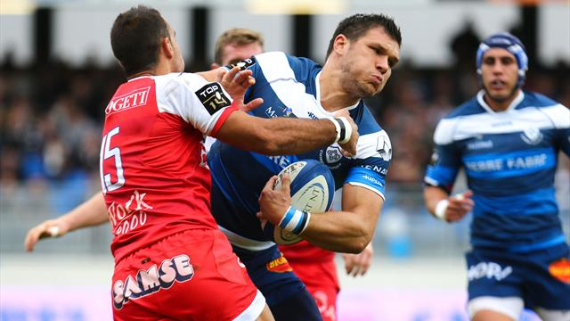 Castres: Grosso toujours absent contre Brive