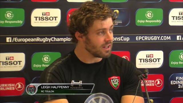 "Halfpenny : ""On veut gagner la Champions Cup"""