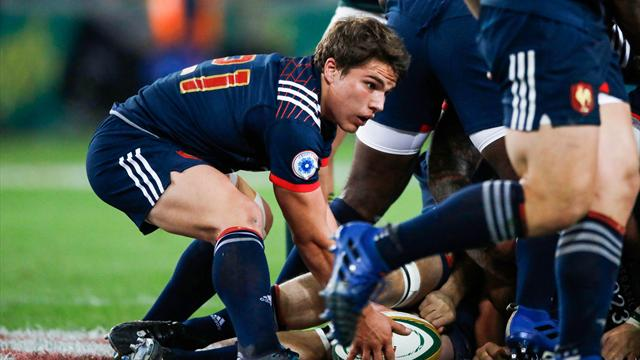 XV de France : Belleau-Dupont en charnière face aux All Blacks