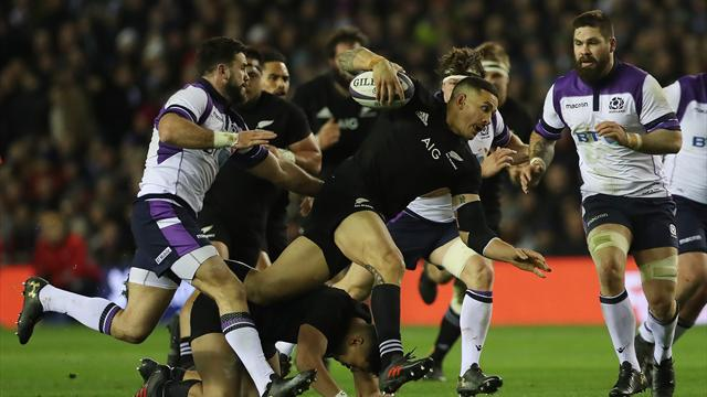 L'Ecosse a frôlé l'exploit face aux All Blacks