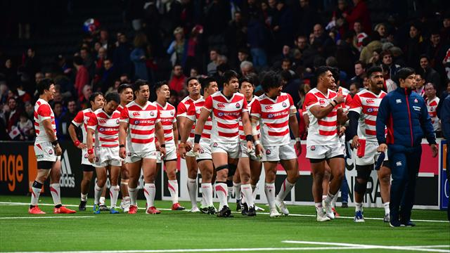 Le Japon bat l'Italie 34-17