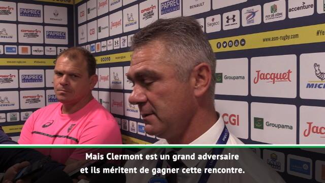 "Meyer : ""On n'a pas d'excuse, Clermont mérite sa victoire"""