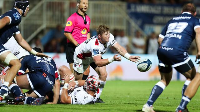 L'impressionnante blessure de James Hall