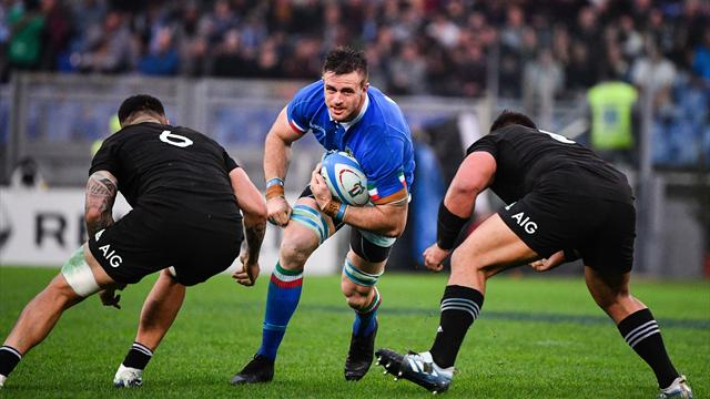 Les All Blacks roulent sur l'Italie (66-3)