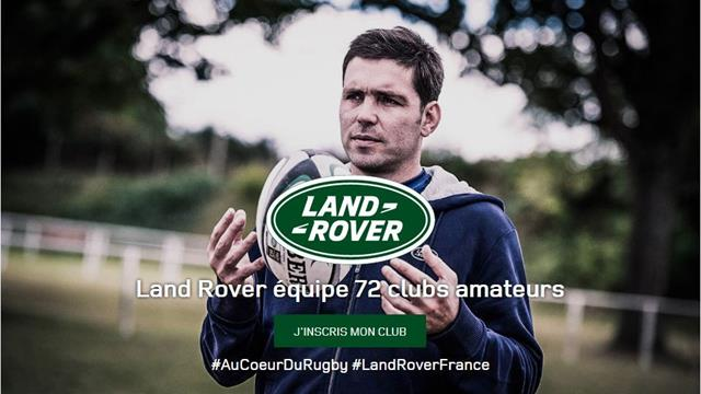 Land Rover habille le rugby amateur
