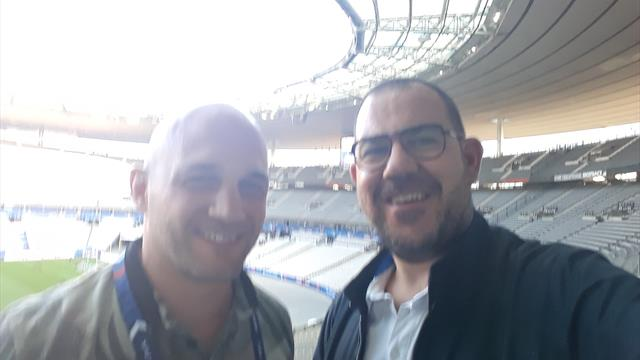 Vous avez suivi en direct du Stade de France l'avant-match de France-Italie