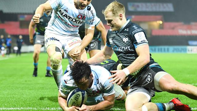 Champions Cup : le Racing 92 s'impose facilement face aux Ospreys