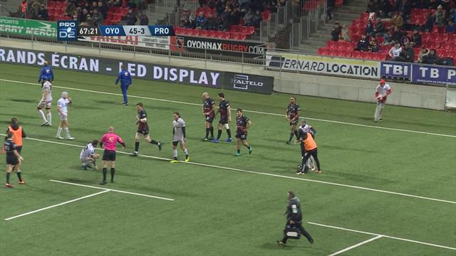 Oyonnax atomise Provence Rugby